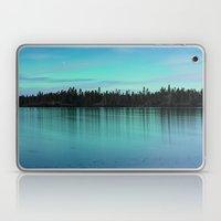 Faint Northern Glow Laptop & iPad Skin