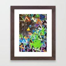 PLUTO rev. Framed Art Print
