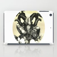 The Ram and the Crows iPad Case