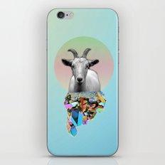 Titanium Goat iPhone & iPod Skin