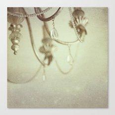 Vintage chandelier  Canvas Print