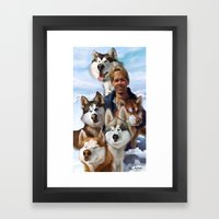 Paul Walker Framed Art Print