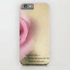 Go Lovely Rose iPhone 6 Slim Case