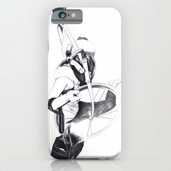 Bike girl iPhone & iPod Case