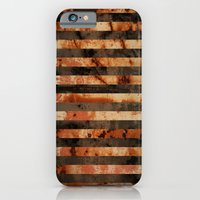 Rusty Barrel Abstraction iPhone 6 Slim Case