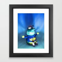 Y2K Bug Framed Art Print