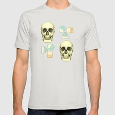 A Creative Mind Mens Fitted Tee Silver SMALL