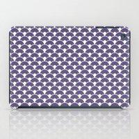 Dragon Scales Deep purple iPad Case