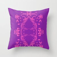 Imperial Heart - II Throw Pillow