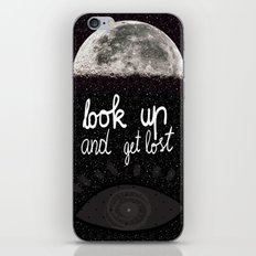 Look up and get lost  iPhone & iPod Skin