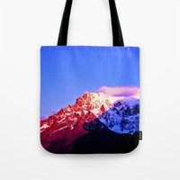 Red Mountain. Tote Bag