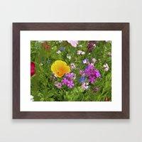 wildflowers meadow II Framed Art Print