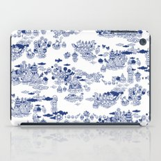 FLOOD IN ANTIQUE CHINESE PORCELAIN iPad Case
