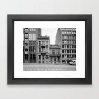 Sideroad Framed Art Print
