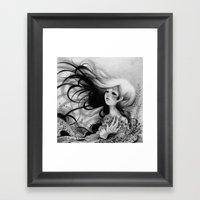 La Niña  Framed Art Print