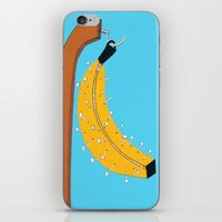 Pin Banana iPhone & iPod Skin