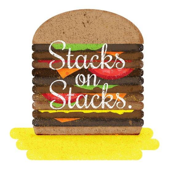 Stacks on Stacks Art Print