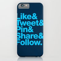 iPhone & iPod Case featuring The Social Type by Firefish