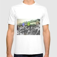 Motorqueen Mens Fitted Tee White SMALL