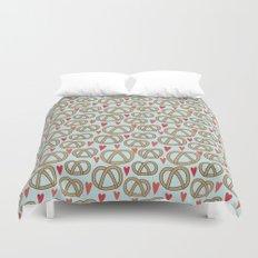 Pattern Project #43 / Pretzel Love Duvet Cover