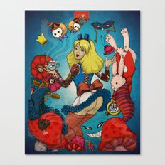 Sweet Alice Canvas Print