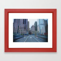 Face What Others Stay Away From  Framed Art Print