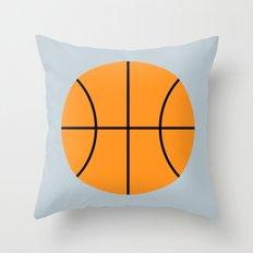 #9 Basketball Throw Pillow