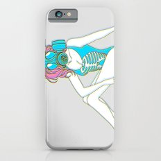 The Last Girl in the World ( Gas Mask Pin-up ) Slim Case iPhone 6s
