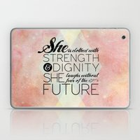 Proverbs 31 She Is...  Laptop & iPad Skin
