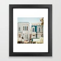 Be Colorful Framed Art Print