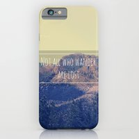 iPhone & iPod Case featuring Not all Who Wander are Lost by Krystal Nicole