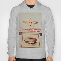 What A Burger Hoody