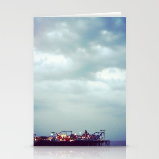 Casino Pier Stationery Card