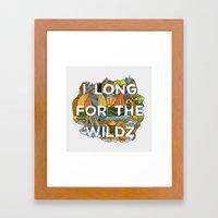 The Wildz Framed Art Print