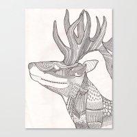 The Forest Spirit Canvas Print