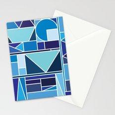 Kaku Blue Stationery Cards
