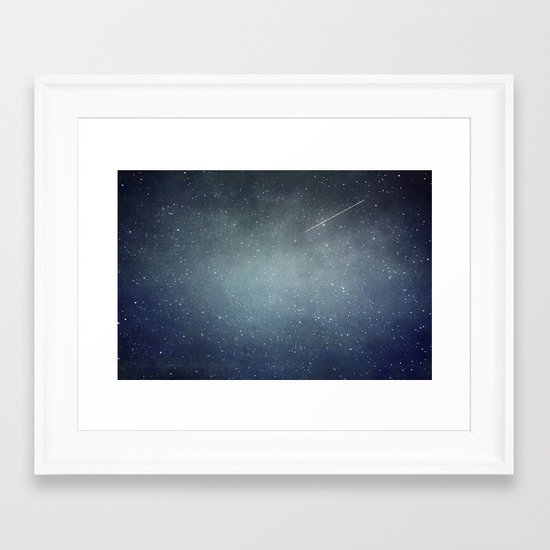 Wish Upon A Star Framed Art Print