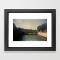 Bridges of Paris Framed Art Print