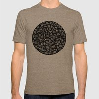 Poussière Mens Fitted Tee Tri-Coffee SMALL