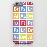 iPhone & iPod Case featuring Adobe Icons by Alex Patterson AKA frigopie76