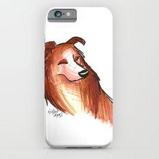 Brush Breeds-Rough Collie iPhone 6 Slim Case