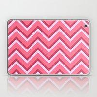 Pink Zig Zag Pattern Laptop & iPad Skin