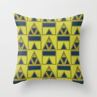 Pattern Print Edition 1 No. 8 Throw Pillow