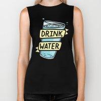 Drink Water Biker Tank