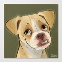 Ramon For BarkBuddies Pu… Canvas Print