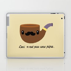 This is not a pipe. Laptop & iPad Skin