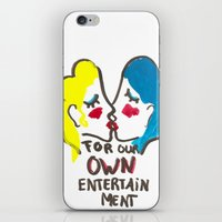 we are lesbians for our own entertainment iPhone & iPod Skin