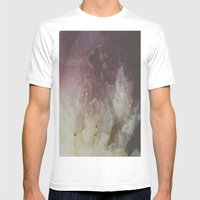 Crystal Mens Fitted Tee White SMALL