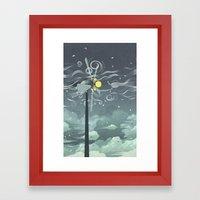 Wind Power! Framed Art Print