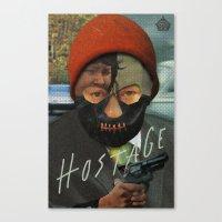 Hostage Canvas Print